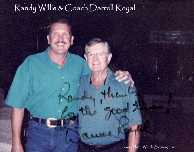Randy Willis Darrell Royal 3