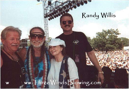 Randy Willis Willie Nelson 3