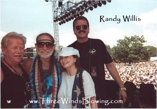 Randy Willis Willie Nelson 3
