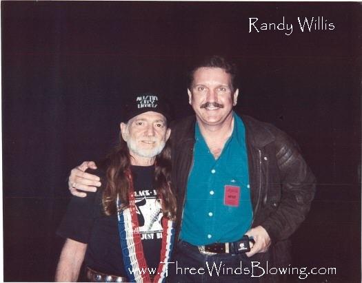 Randy Willis Willie Nelson 8