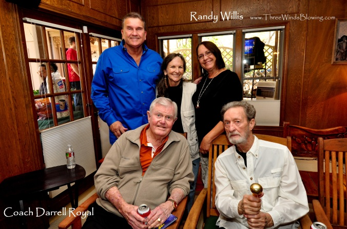 Randy Willis Darrell Royal #randywillis