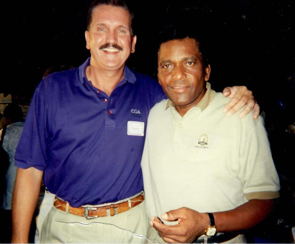 Randy Willis and Charlie Pride